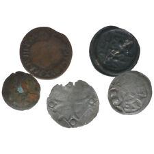Mittelalter, 5 Münzen unbestimmt, A43561