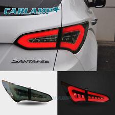 For Hyundai 2013-2015 Santa Fe IX45 Tail Lights LED Brake Lightbar Smoke Color