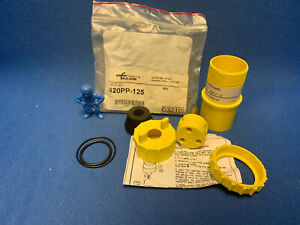 Cooper Crouse-Hinds Pauluhn 420PP-125 Marine Plug 20A 125V - Yellow Plastic