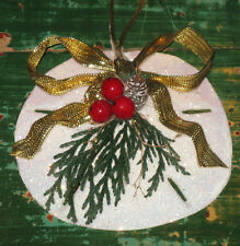~Vintage Sand Dollar Christmas Ornament Sea Ocean ~