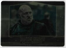 2017 Game of Thrones Valyrian Steel #50 Janos Slynt Gold Parallel /100