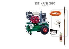 Kit Krisi 380 Sbaraglia 1 operatore Motocompressore Motore Honda e abbacchiatore