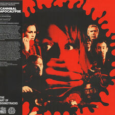 Cannibal Apocalypse Motion Picture Movie Soundtrack LP - RED Vinyl Album Record