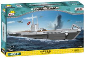 Cobi 4828 U-Boot U-47 (Typ VIIB) Bausatz 422 Teile sofort lieferbar!!!