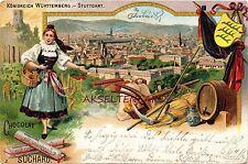 Reklame Normalformat Ansichtskarten aus Baden-Württemberg