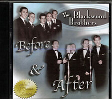 """THE BLACKWOOD BROTHERS..""""BEFORE & AFTER""""..""""HALL OF FAME SERIES""""....OOP GOSPEL CD"""