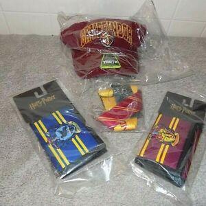 Warner Brothers HARRY POTTER Gryffindor Wallet lanyard Hat- Ravenclaw Wallet Lot