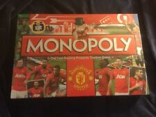 Manchester United Football Club Monopoly Game 2014 New Unopened