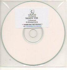 (669K) Sandy Vee, Paranoid / Schizophrenia - DJ CD
