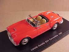 Spark 1/43 Resin 1956 Lancia Aurelia B24 Open Top Convertible w/LHD, Red  #S2378