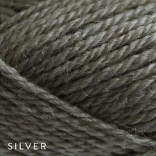 5 x 50g Balls - Patons Jet 12ply Wool-Alpaca - Silver #819 - $34.95 A Bargain