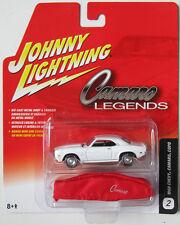 JOHNNY LIGHTNING CAMARO LEGENDS 1969 CHEVY CAMARO COPO w/MINI CAR COVER #2