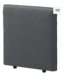 Ikea Cover for Vallentuna Back Rest in Hillared dark Grey 403.295.14 Brand New