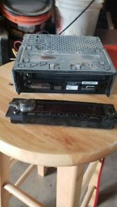 CLARION DXZ665MP CD PLAYER RECEIVER STEREO with the wiring harness