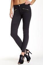 Joe's Jeans Women's Gray Chevron Zip Ankle Legging Sz 30 $198 *i621