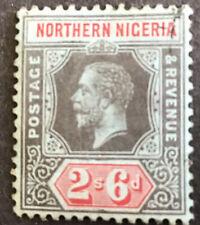 Northern Nigeria George V 2/6 Definitive SG49 Lightly Used C/V £55.00