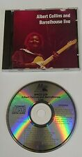 ALBERT COLLINS AND BARRELHOUSE - LIVE  CD - Exc Cond