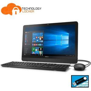 """Dell Inspiron 20 3052 AIO 19.5"""" Intel Pentium N3700 @1.60GHz 4GB RAM 1TB HDD Win"""