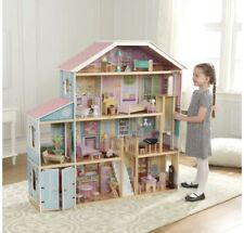 KidKraft Majestic Mansion Deluxe Pretend Play Dollhouse New