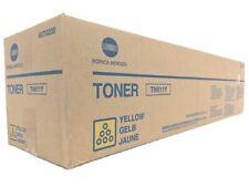 Genuine OEM Konica A070230 Yellow Toner (TN611Y) Bizhub C451/C550/C650 27K Yield