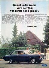 Ford-20M-69-Reklame-Werbung-genuine Advert-La publicité-nl-Versandhandel