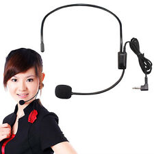 JZ_ Wired Microphone Headset Conference Speech Speaker Amplifier Microfone