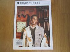 Highsnobiety Magazine F/W 2016 Young Thug,Zayin Malik,Haider Ackermann,New.