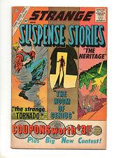 Strange Suspense Stories #52 1961 Fine 6.0 DITKO ART Pre Amazing Fantasy #15 CDC