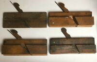 Vintage Antique Wooden Planes Carpentry Carpenter Wood Working
