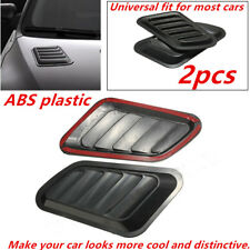 Durable Car Decorative Air Flow Intake Scoop Turbo Bonnet Vent Cover Hood Fender