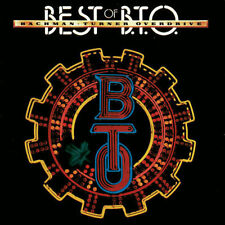 BACHMAN TURNER OVERDRIVE BEST OF B.T.O. REMASTERED CD NEW