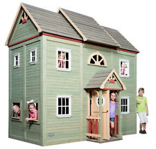 Backyard Discovery VICTORIAN MANSION 2-STORY PLAYHOUSE Playset ALL CEDAR Outdoor