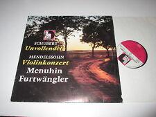 LP/FURTWÄNGLER/SCHUBERT/MENDELSSOHN VIOLINKONZERT/Volksplatte SMVP 8040