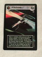 "Star Wars CCG SWCCG Death Star II Rebel    I""LL TAKE THE LEADER"