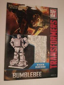 Transformers Metal Earth Bumblebee