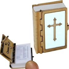 Tiny Mini Bible Small Minature Holy Old New Testament Church Religious Book New