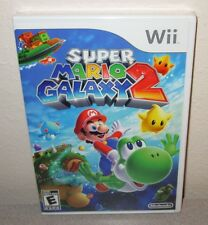 SUPER MARIO GALAXY 2 Sealed NEW Nintendo Wii Platformer Orig Day 1 1st Printing