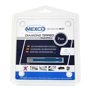 Mexco TDXCEL Dry Diamond Vacuum Brazed Tile Drill Bits Porcelain-Ceramic-Granite