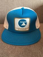Vintage Conservation Fallow Herbicide Monsanto Trucker Style Snapback Hat Mesh