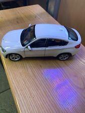 WELLY BMW X6 ALPINE WHITE 1:24 SCALE USA FREE SHIP
