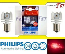 OpenBox Philips X-tremeVision LED Light 1156 Red Two Bulbs Stop Brake Rear Lamp