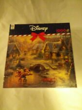 "New ListingDisney Thomas Kinkade ""Mickey and Minnie Holiday"" New 1000 Pieces"