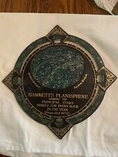 Hammett's Astronomy Planisphere Celestial Map Sky Chart Celestial Zodiac Stars