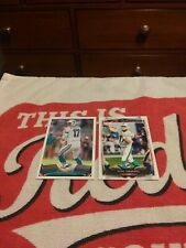 New listing Lot of 2 Topps Ryan Tannehill 2013 & 2014 Very nice 2nd & 3rd Years