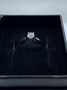 18ct White Gold & Diamond - HJ006