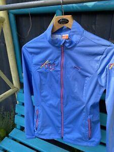 Puma golf Cell Ladies Wind Jacket Blue Small