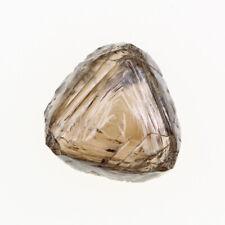 Triangle Shape Light Brown Color VS2 Clarity 1.80 Carat Natural Rough Diamond