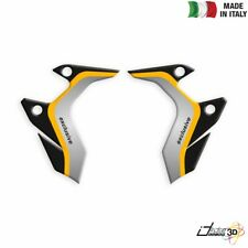 RADIATOR COVERS STICKERS RESINED YELLOW FITS BMW R 1250 GS 2019-2019