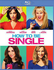 How to Be Single (Blu-ray Disc, 2016) No Digital copy
