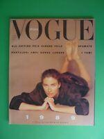 VOGUE Italia Gennaio 1989 465 January Rosemary McGrotha Kirsten Owen Kara Young